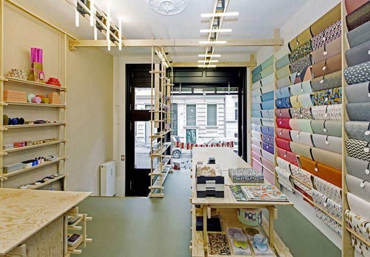 Bilderesultat for paper shop interior
