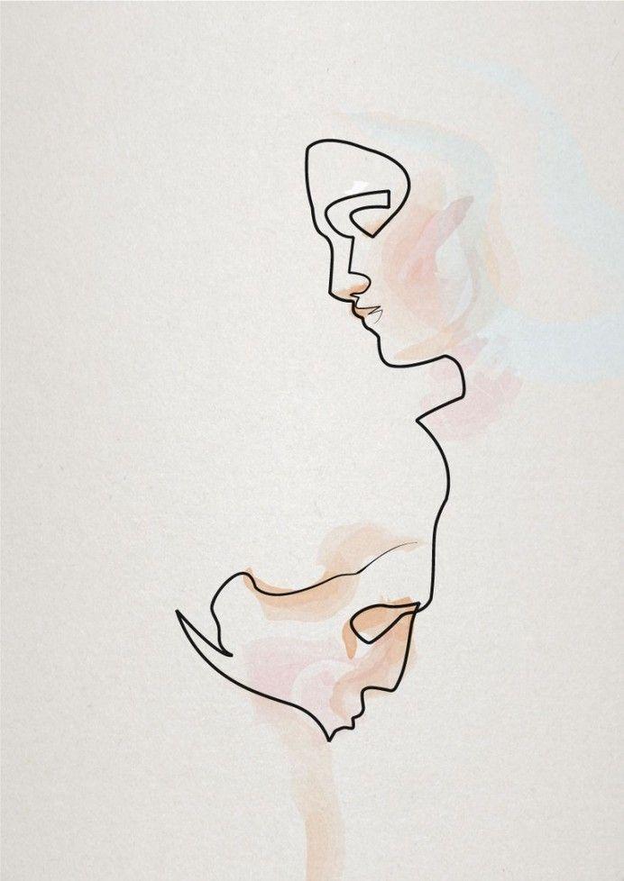 éternelle idole 3 #illustration #abstract #inspiration — Designspiration