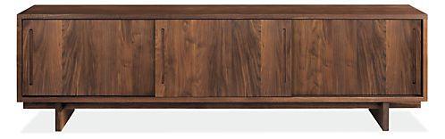 Coen Media Cabinet - Modern Media Storage - Modern Living Room Furniture - Room & Board