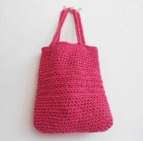 Le cabas crocheté parfait - Tricot & crochet - Pure Loisirs suivre le lien pour le tuto. http://www.pureloisirs.com/rubrique/tricot-crochet_r5/le-cabas-crochete-parfait_a194/1
