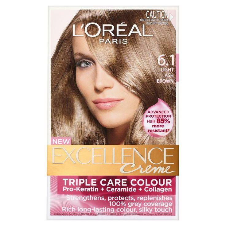 L Oreal Paris Excellence Permanent Hair Colour 6 1 Light