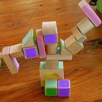 Velcro Blocks from Chasing Cheerios