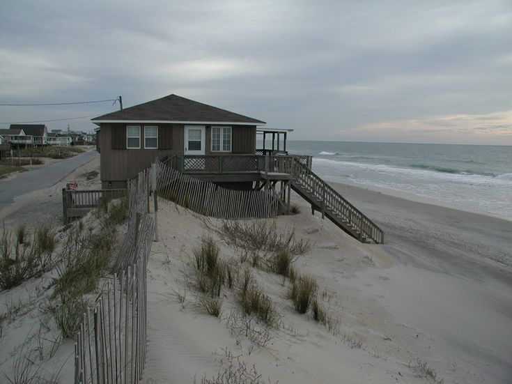 Jacksonville, NC : Onslow Beach in Jacksonville NC in January