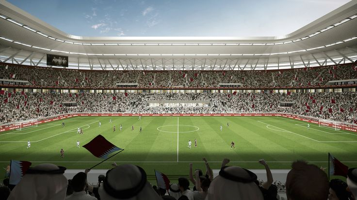 Qatar denies Gulf crisis hurting 2022 build-up as it unveils moveable stadium #News #FIFAWorldCup #Football #Qatar #Qatar2022