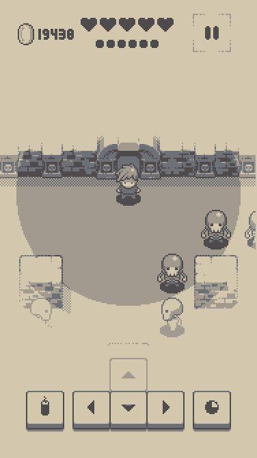 Into the Dim - Retro Turn-Based RPG #gamedev #game #design #pixelart