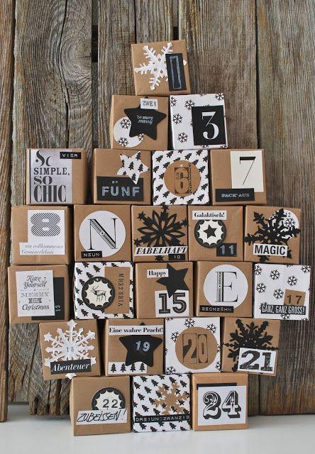 30 idées pour créer son propre calendrier de l'Avent | Femina