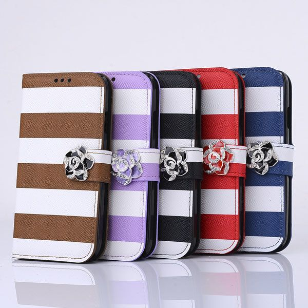 Rainbow Flower PU Leather Protective Case For Samsung Galaxy S4 I9500…