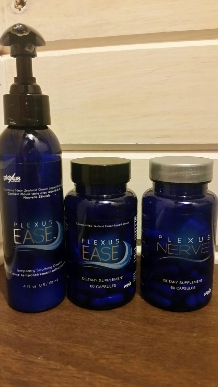 Here is just some of the wonderful products plexus has and I use every day. Ease capsules is for every day aches and pains expecially for people with active lifestyles. Ease cream can be used for instant relief. Nerve may reduce symptoms from nerve discomfort. If you want to feel better and want to start let me know. I have been using these for a few months and I have to say my pain has diminished. There are no side effects like the meds my doctor put me on. I love them.
