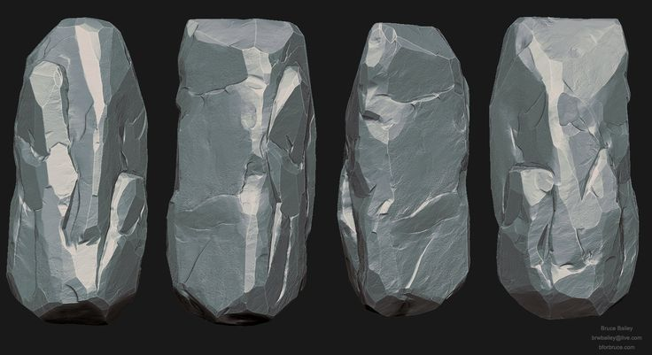 Rock Study, Bruce Bailey on ArtStation at https://www.artstation.com/artwork/rock-study-04bbc63d-9513-43e0-aaf3-21b8fd9c0d5e