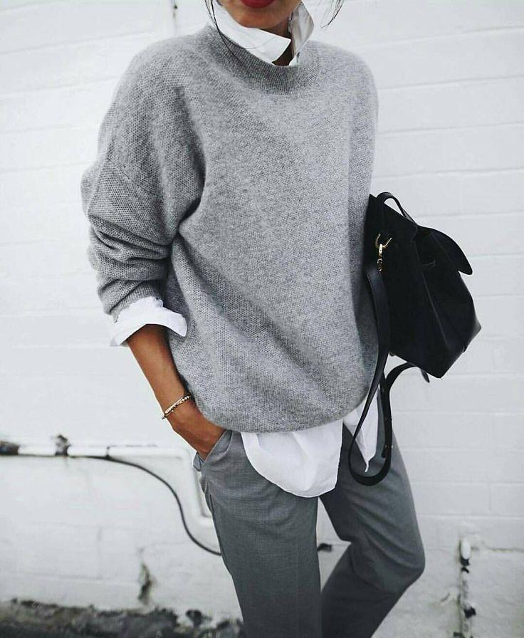 361 отметок «Нравится», 6 комментариев — Outfit Ideas Aline Lorenzo (@outfitideas4you) в Instagram: «✨ Easy chic by @andicsinger Via @inspocafe»