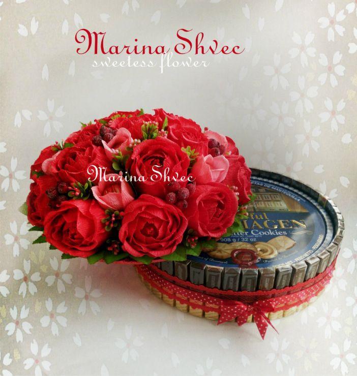 Gallery.ru / Фото #20 - Торты из конфет и композиции - FloweerSweet-MarinaShvec