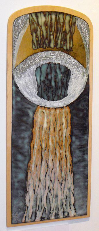 FÉNYMORZSÁK – A Tűzzománcművészek Magyar Társasága országos, csoportos kiállítása : Erdős Renée Ház Morelli Edit