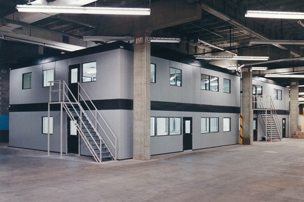 When the Department of Supply and Services built a new warehouse in Alberta, they contacted NRB to manufacture five various sized NCP-1000 Panelized In-Plant Buildings #in_plant_buildings #portable_buildings