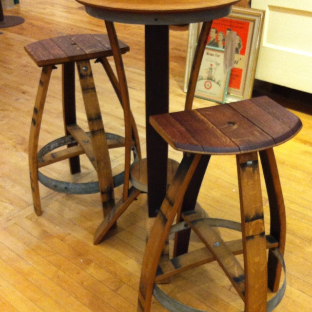 Wine barrel stools & 96 best Wine Barrel Decor images on Pinterest | Wine barrels Wine ... islam-shia.org