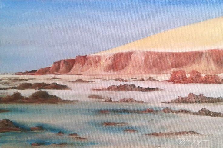 Praia de Ponta Grossa - Icapuí - Ceará Pintura (óleo) / Oil Painting