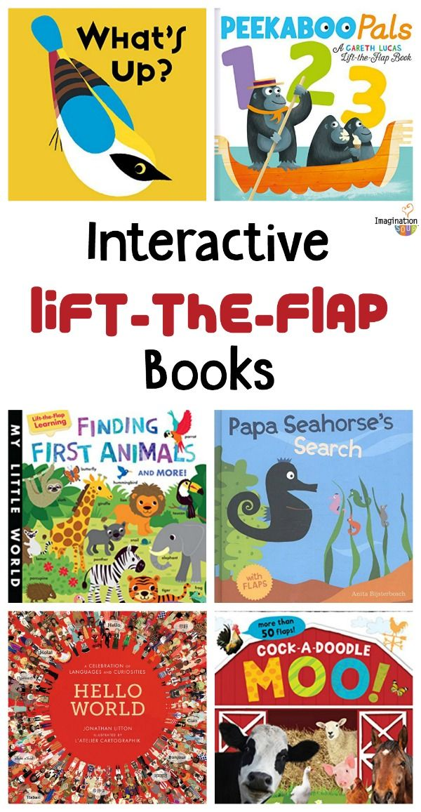 interactive lifttheflap books for kids