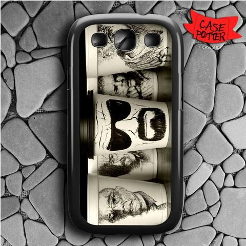 Breaking Bad Art Samsung Galaxy S3 Black Case