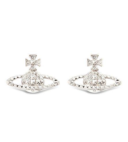 VIVIENNE WESTWOOD JEWELLERY - Mayfair bas relief earrings | Selfridges.com