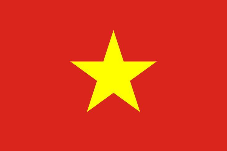 Flag of Vietnam - Galeria de bandeiras nacionais – Wikipédia, a enciclopédia livre