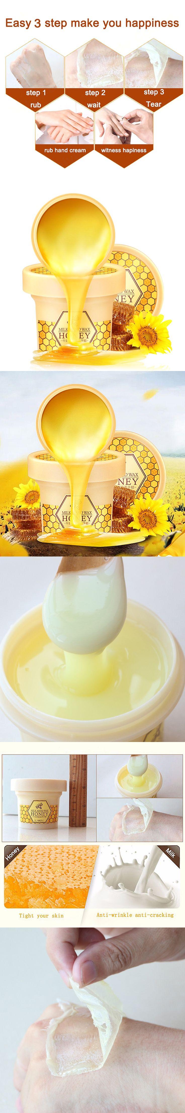Milk Honey Hand Wax Paraffin Bath Hand Mask Whitening Exfoliating Moisturizing Anti Wrinkles Hand Care Hand