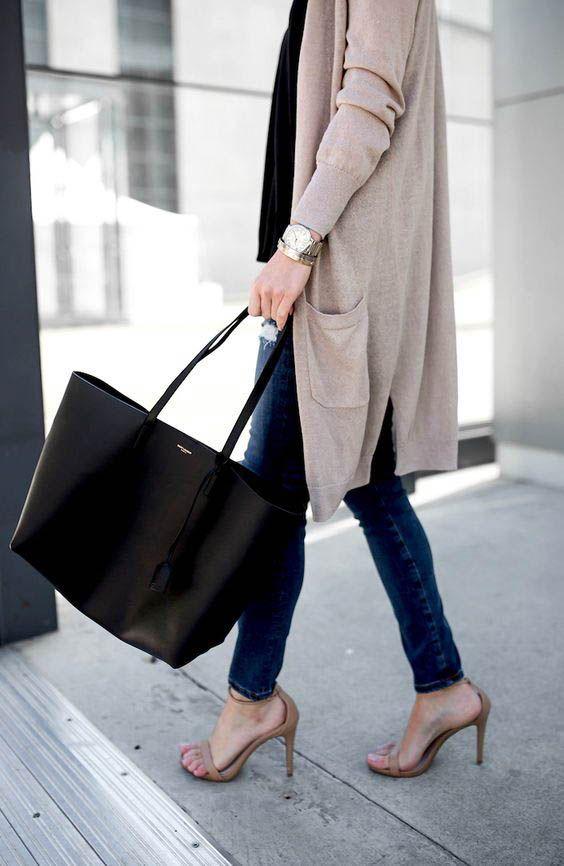 1d65ce33fff Saint Laurent Shopper Tote Bag street style outfit / Designer work bag /  street style fashion / work tote bag #workwear #ysl #yslbag #saintlaurent  #fashion ...