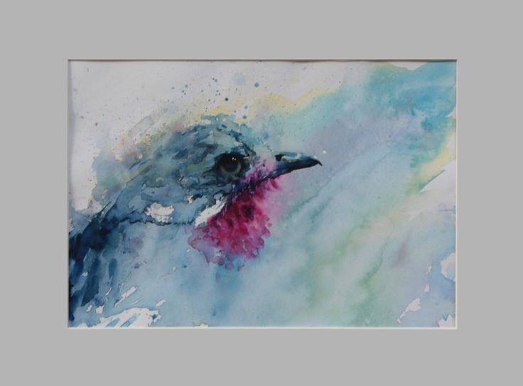 """Contingas Spangel"" 2015 30 x 21 cm Watercolour on cotton paper 300 g luigibarra.blogspot.it"