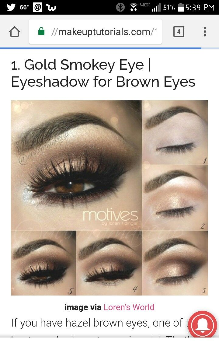 9 best makeup images on pinterest beauty make up eye make up here are 15 step by step smoky eye makeup tutorials for beginners from styles weekly a smoky eye is a must in any girls makeup repertoire baditri Gallery
