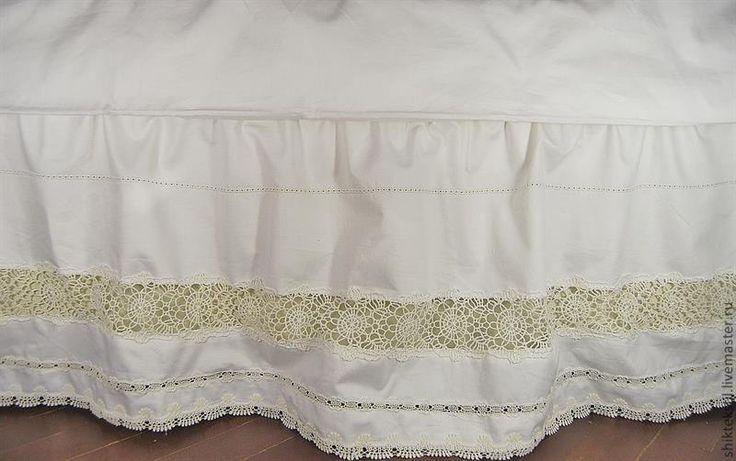 Юбка для кровати купить текстиль