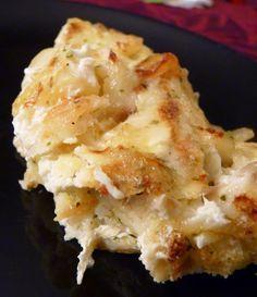 Bacalhau com natas (gratin de morue à la crème)