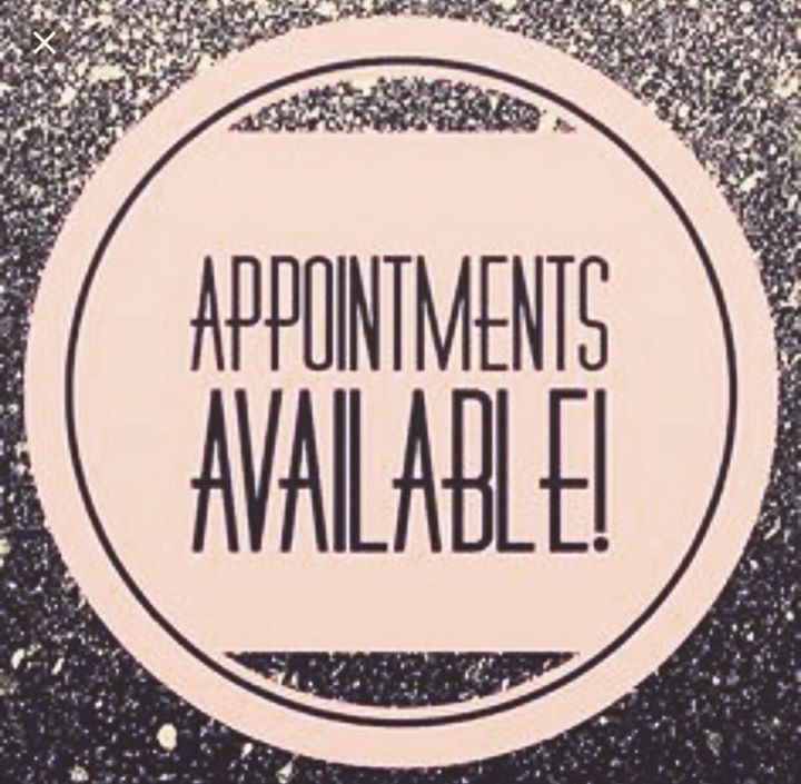 Hello There Are 2 Available Appointments Left For This Week Book Now And Receive A Complimentary Haircut Call Hair Appointment Facial Waxing Massage Quotes