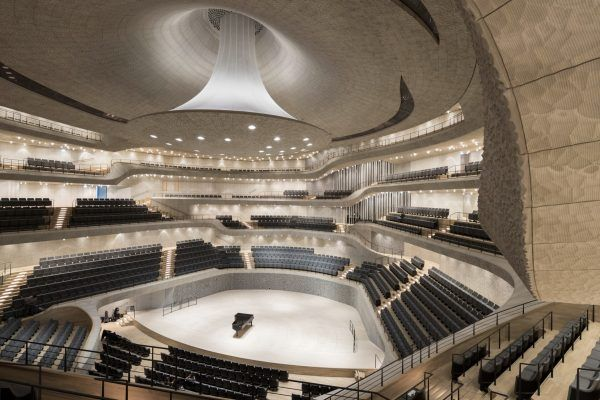 Grand Hall Hamburg Elbphilharmonie Concert Hall Elbphilharmonie Hamburg Herzog