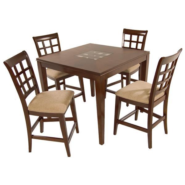 el dorado furniture anson 5 piece high dining set home ideas pinterest dining sets el. Black Bedroom Furniture Sets. Home Design Ideas