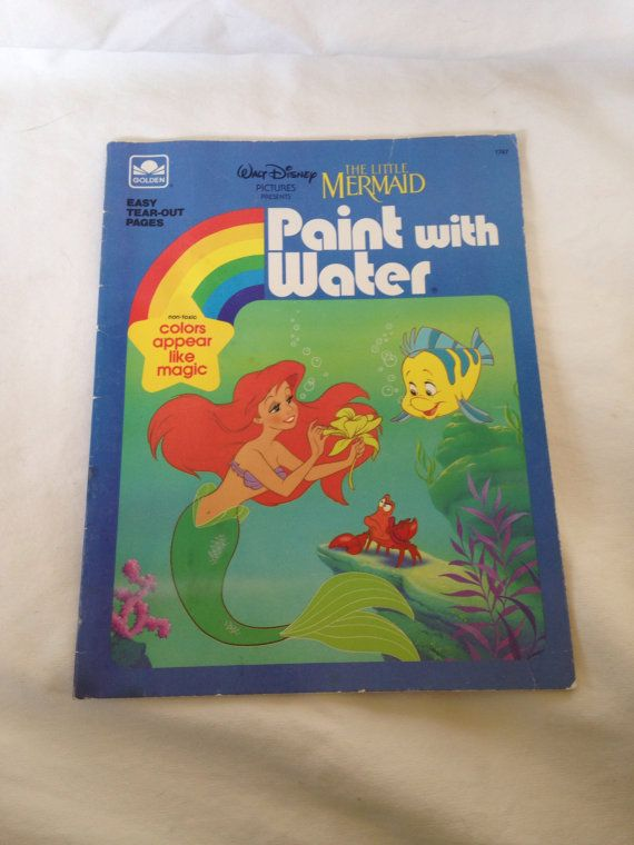 Vintage The Little Mermaid Disney peinture par RetroVintageHeart