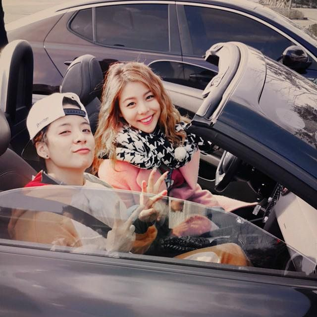 Ailee & Amber f(x) love these two