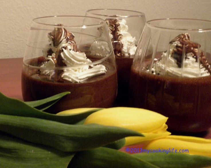 Deep, rich chocolate indulgence.