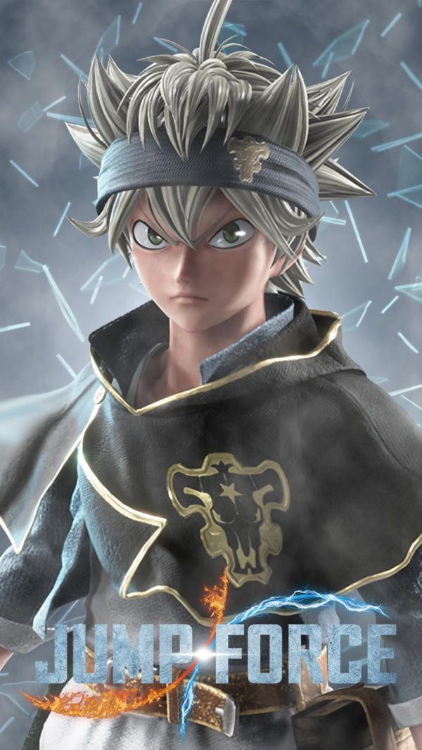 Jump Force Asta Black Clover By Farizf Black Clover Anime Dragon Ballz Goku Anime