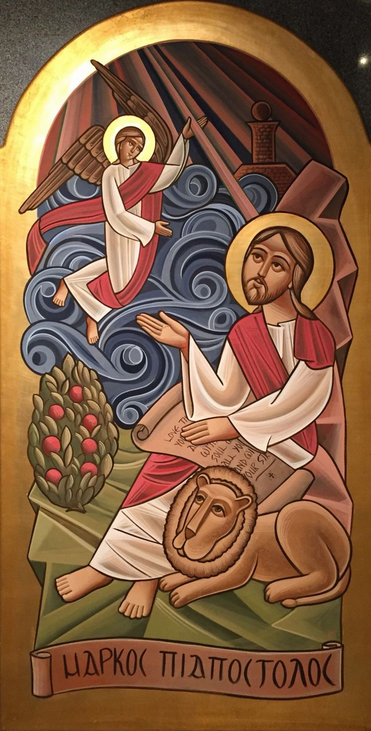 ST MARK By Fadi Mikhail  In Paintings, Oil on wood Size: 1700(L) X 700(W)  Price 2000 CHF  See it here: http://www.c-glory.ch/artwork.html #CGlory #STMark #Artwork
