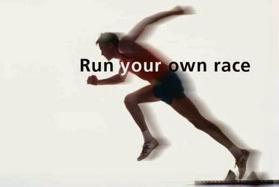 The race of life is win by those who know where they want to go...