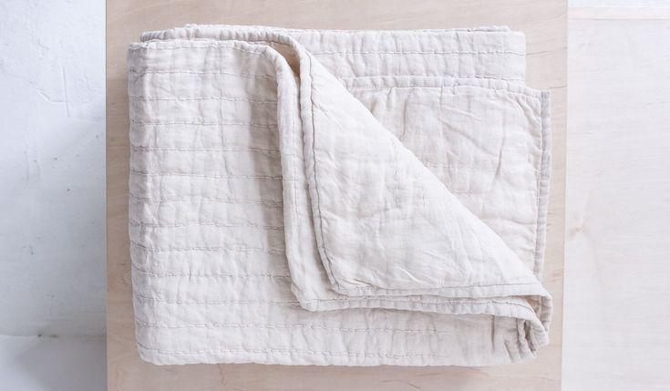 spartan . tpe - linen quilt