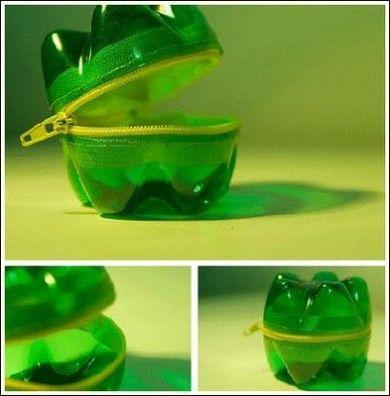 cómo hacer un monedero con materiales reciclables