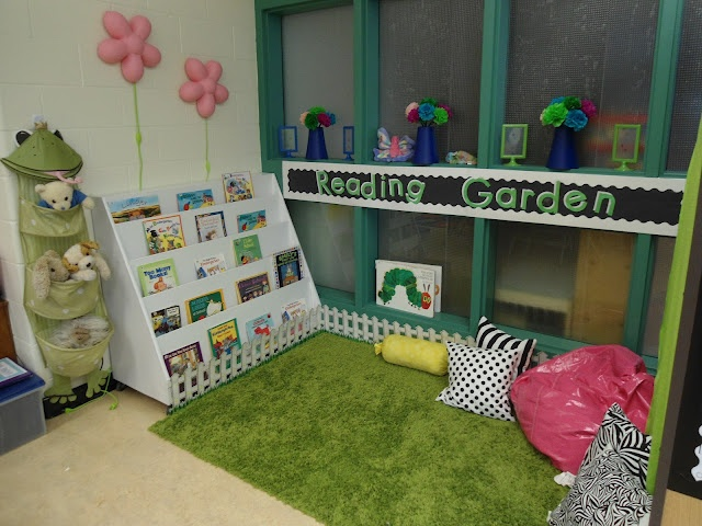 Classroom Reading Garden
