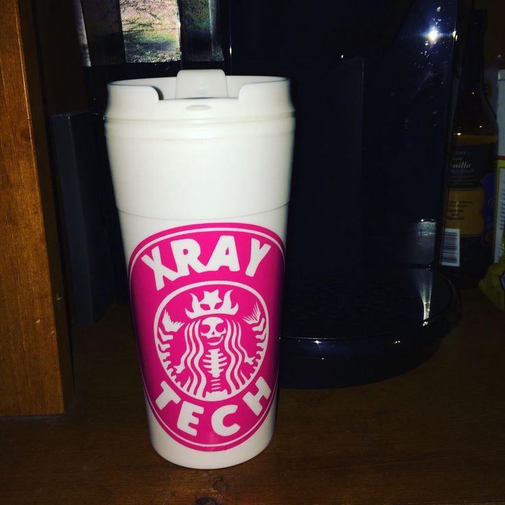 Xray Rad Tech Portable coffee mug by iSAAWit