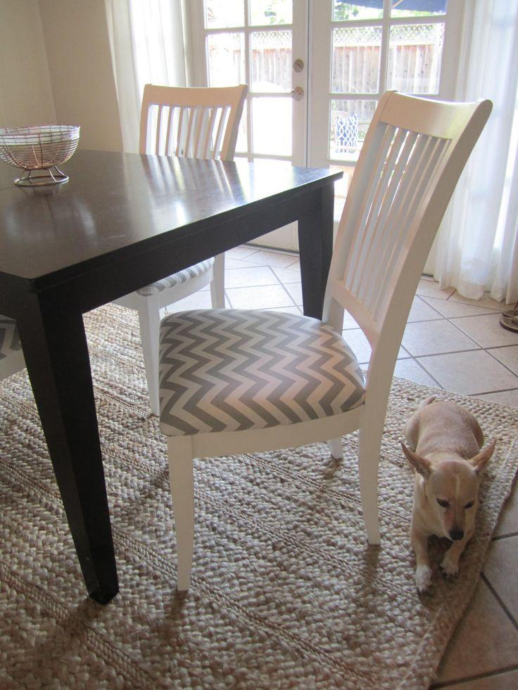 Více Než 25 Nejlepších Nápadů Na Pinterestu Na Téma Recover Dining Pleasing Upholster Dining Room Chairs Design Decoration