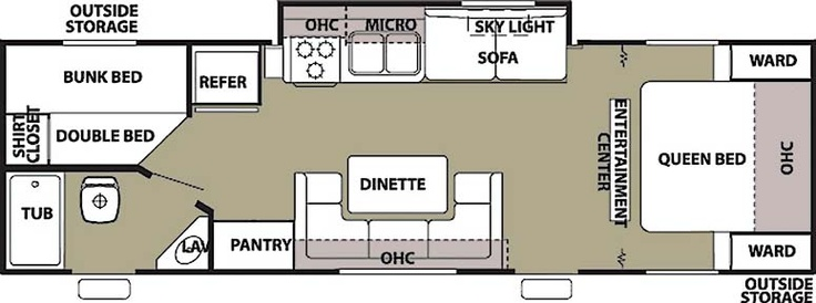used travel trailers with bunk beds floor plans - carpet vidalondon