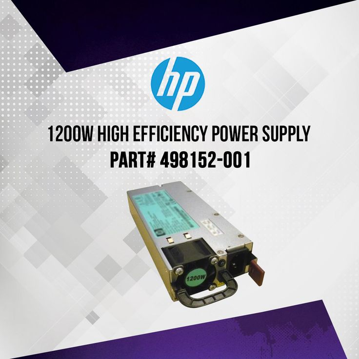 HP 498152-001 1200 Watt Power Supply..