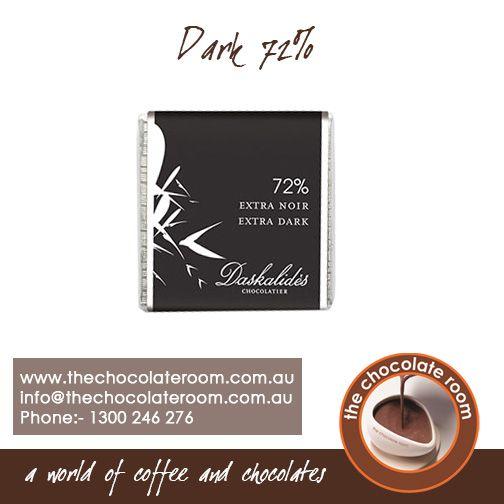 Dark 72% #chocolate For more updates, follow @chocolateroomau