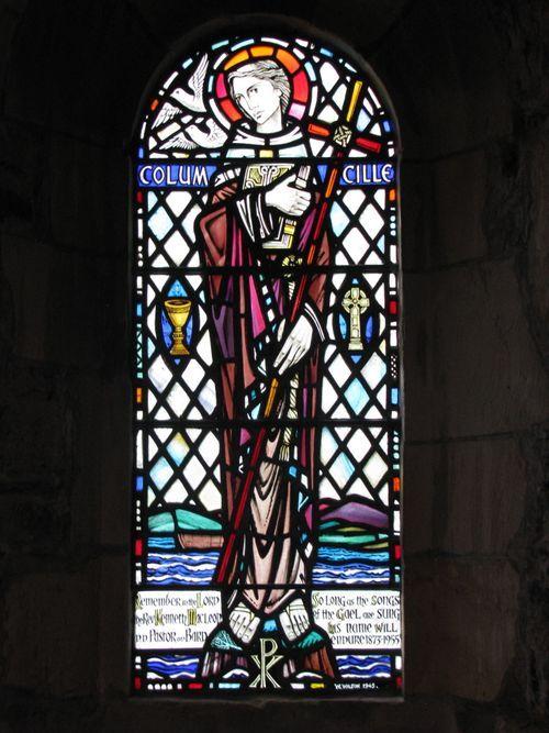 St. Columba window - Iona
