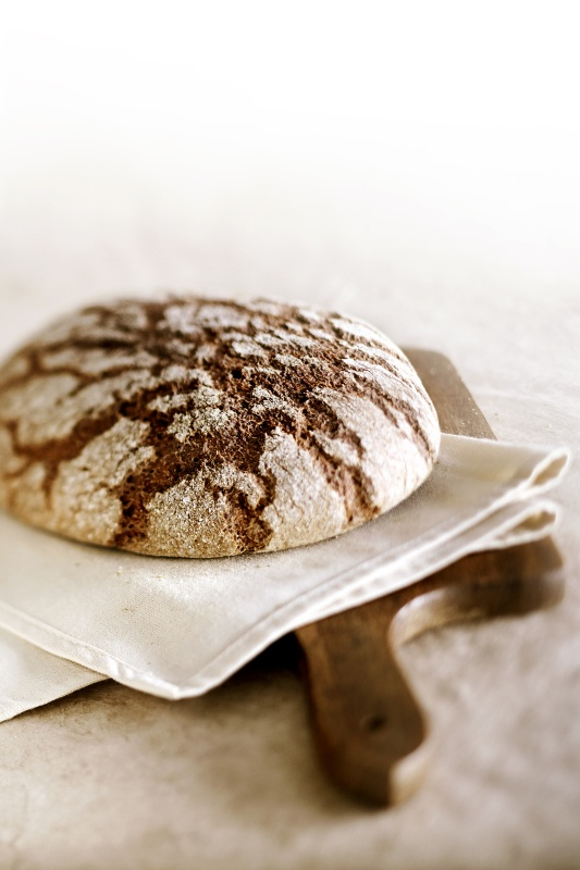 The Finnish rye bread is usually baked using the root of the dough that can be over a hundred years old! #Yammy #Ryebread