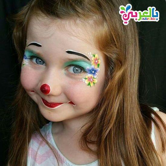رسومات على وجوه الاطفال سهلة للبنات افكار حفلات للاطفال بالعربي نتعلم Carnival Face Paint Face Face Paint