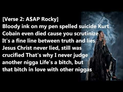 Asap Rocky - Phoenix Lyrics - YouTube